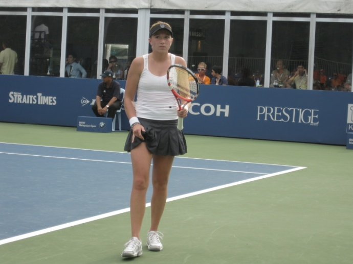 Krajicek at Court 1
