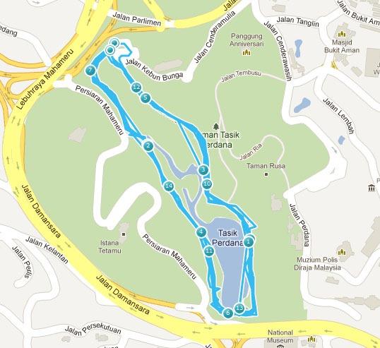 Lake Gardens Bike Ride 31Aug