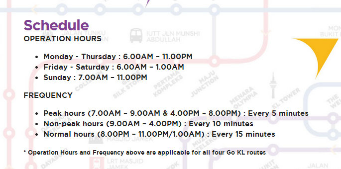 Go KL frequency